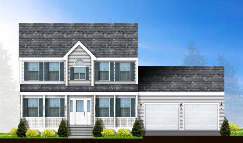 custom home rendering