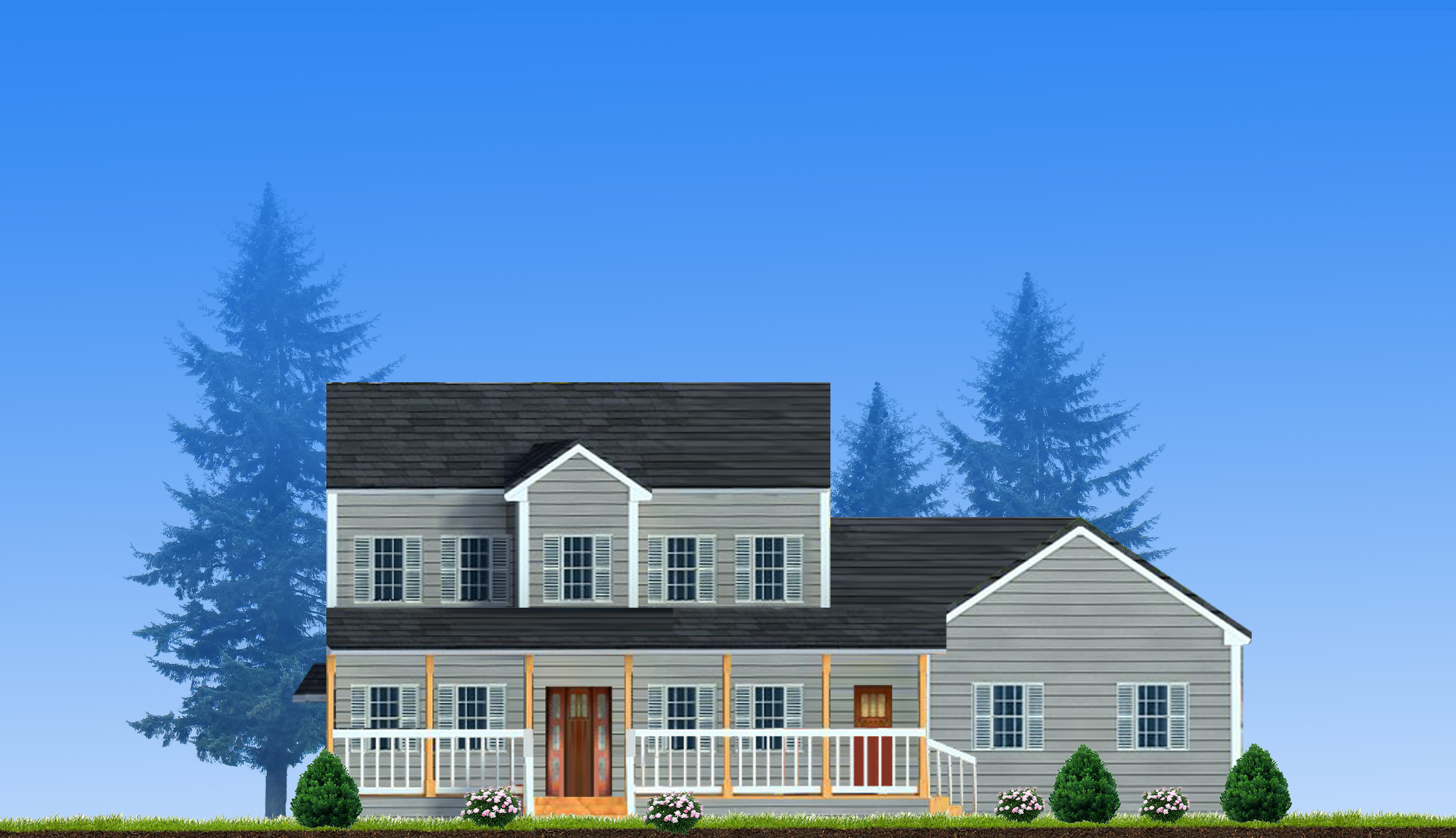 red maple custom home design