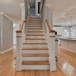 custom home staircase