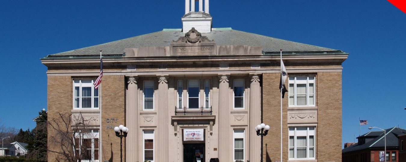 """Leominster_City_Hall"" by Marc N. Belanger is licensed under CC BY 2.0"